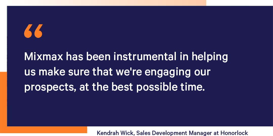 Kendrah Wick, Sales Development Manager about Mixmax