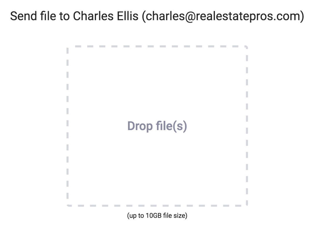 Easily collect files over email