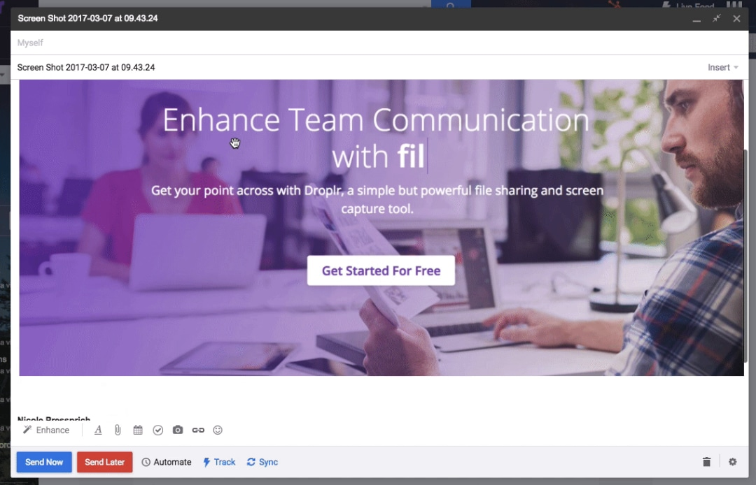 Even more ways to enhance your communication with Droplr