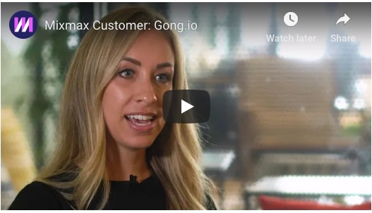Mixmax Aligns Outbound Communication Across Sales and Customer Success at Gong.io
