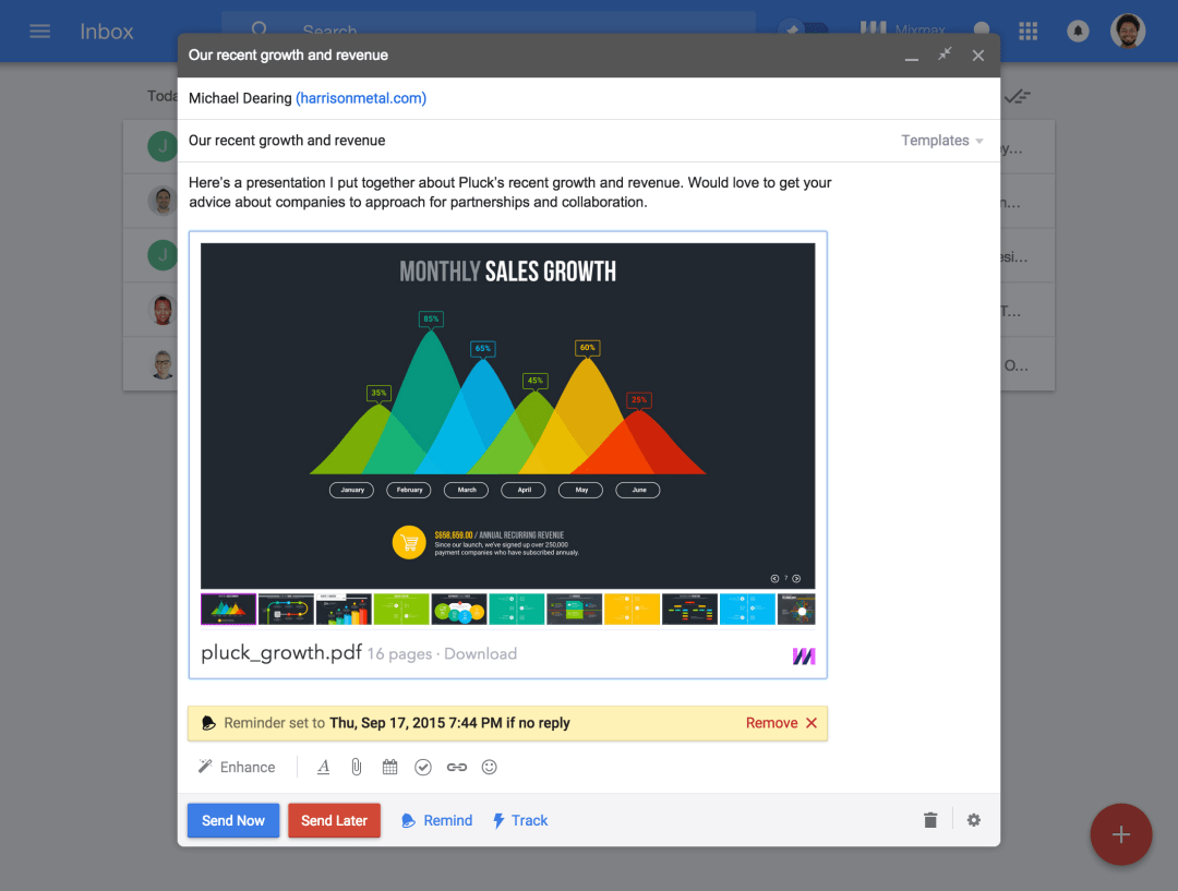 The *first* and essential productivity suite for Google Inbox