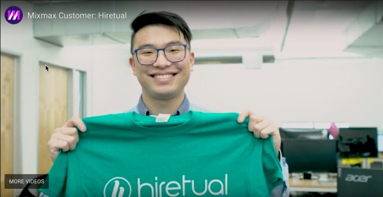 Hiretual Sales Team Generates More Pipeline and Saves 90 Hours/Week using Mixmax