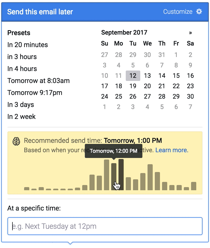 The best time to send emails
