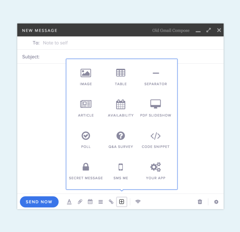 Mixmax + Text Messaging: Embed an SMS contact form in your email