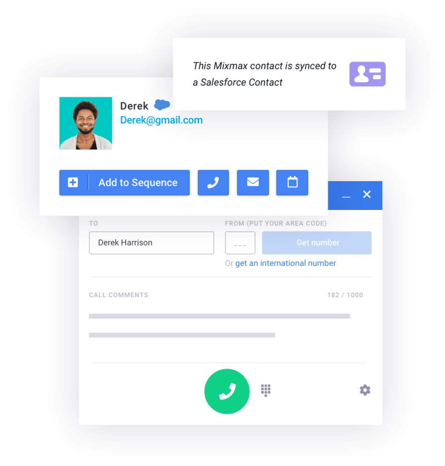 Dialer for Gmail