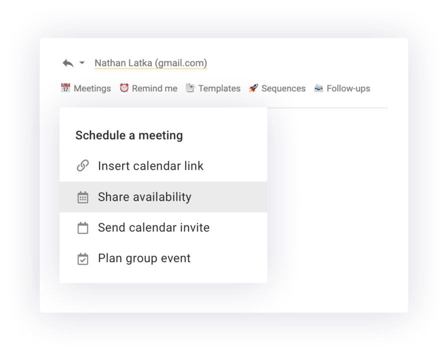 One-click meetings