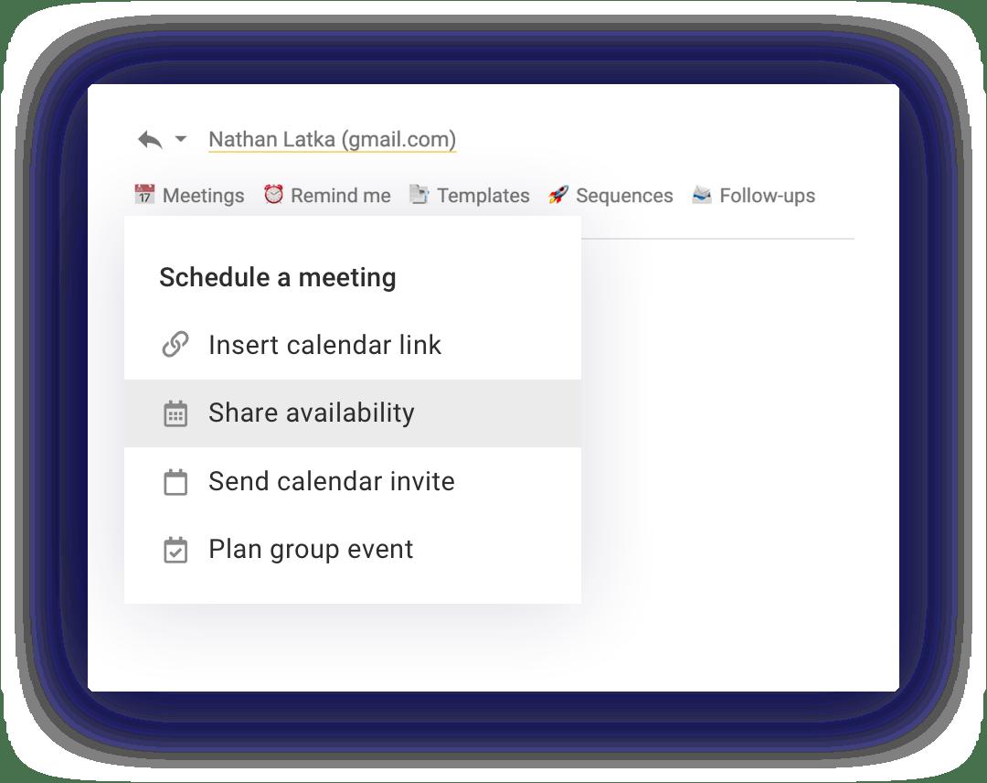 Land more meetings