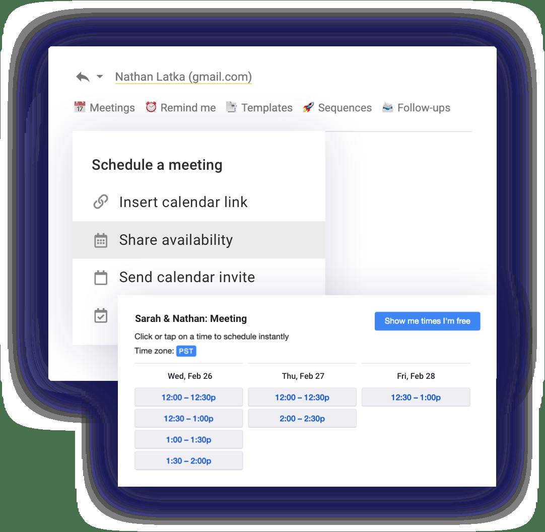 Book more meetings